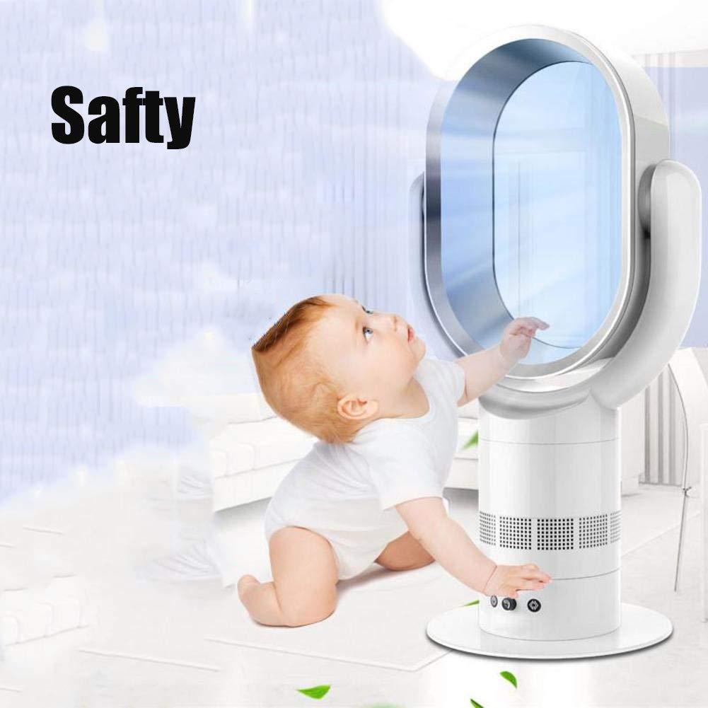 Ventilador Sin Aspas Aire Climatizador Portátil,Ultra Silencioso ...