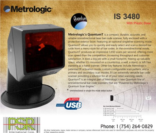 Why Should You Buy Metrologic Quantum MS (IS) 3480 - PLUG and PLAY, tested, working, in good conditi...