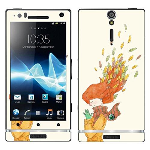 DISAGU SF 103841_ 1199Pellicola Design per Sony Ericsson Xperia Arc HD–Motivo Autunno Wind 01'