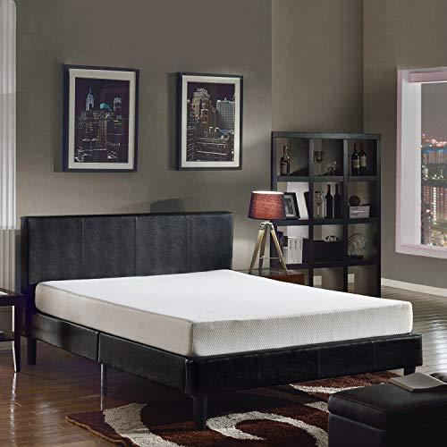 Swiss Ortho Sleep, 8' High-Density, 3 x Layered Memory Foam Mattress, w/Bamboo Cover