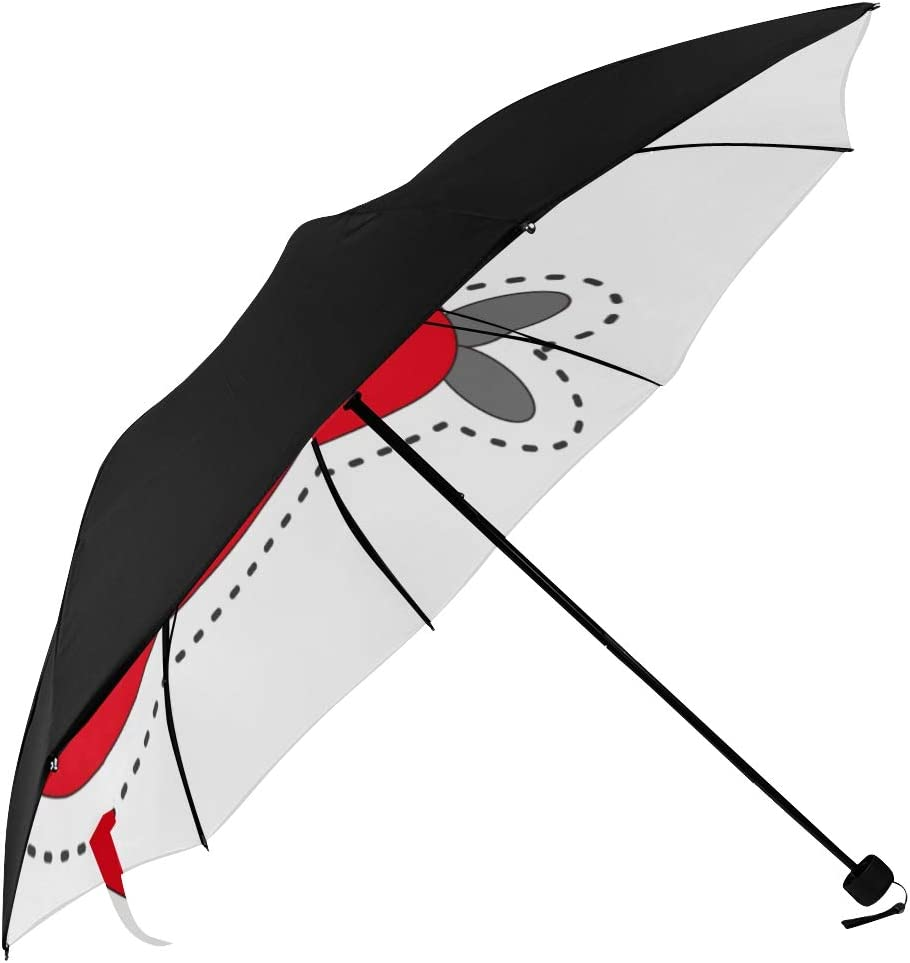 Travel Umbrella Kids Unsual Max 50% OFF Aircraft Manufacturer direct delivery Particluar Underside Modern