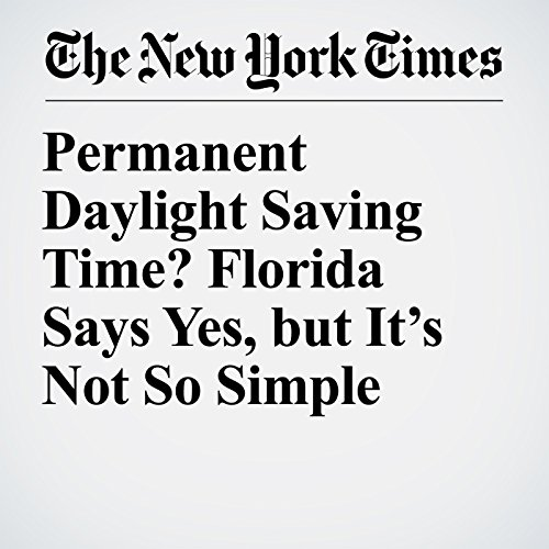 Permanent Daylight Saving Time? Florida Says Yes, but It's Not So Simple copertina