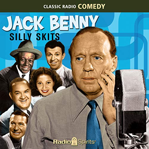 Jack Benny: Silly Skits                   By:                                                                                                                                 Original Radio Broadcast                               Narrated by:                                                                                                                                 Jack Benny,                                                                                        Mary Livingstone,                                                                                        Phil Harris,                   and others                 Length: 7 hrs and 56 mins     9 ratings     Overall 4.9