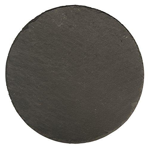 RAYHER 56532000 Schiefer Platte, 20 cm Durchmesser