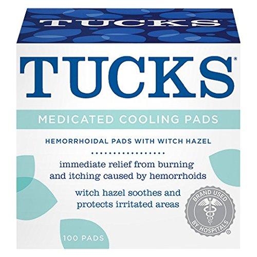 Tucks Md Cool Hemorrhoid Pad, 100 Count