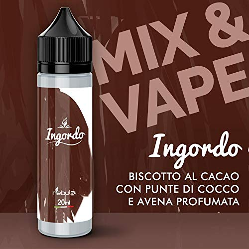 NEBULA AROMA CONCENTRATO Mix & V. 20 ml MADE IN ITALY - 2019 (Ingordo)
