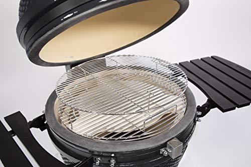 "PIT BOSS 71240 Kamado BBQ Ceramic Grill Cooker, 24"""