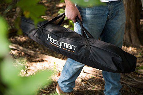 Hooyman 655236 Cordless 40 Volt Lithium Pole Saw with Carry Case for Cutting Trimming Hunting and Camping