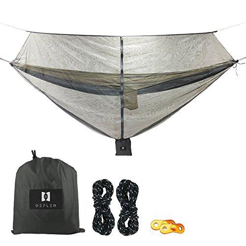 LinkHealth Camping Hangmat Bug & Muggennet - 360° Bescherming Perfect Mesh Netting Houdt No-See-Ums, Muggen en Insecten Uit - Past Bijna Alle Hangmatten