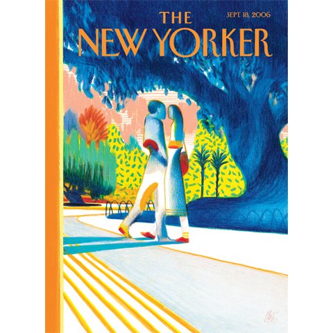 The New Yorker (Sept. 18, 2006) audiobook cover art
