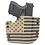 OWB Holster - FDE - Flat Dark Earth - US Flag (Right-Hand, S&W M&P 2.0-9/40/45)