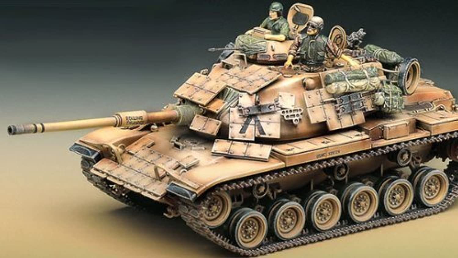 (Academy) Academy 1 35 USMC M60A1   13240 (1349) passive armor   watt [Overseas directly for goods] [parallel import goods]