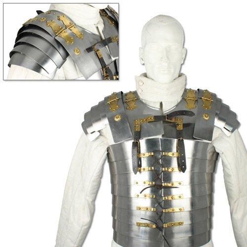 Lorica Segmenta Cuirass Roman Plate Armor - High Carbon Steel Scale Medieval Greek