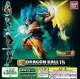 Bandai - Dragon Ball Super VS Dragon Ball Set completo 4 Figuras DragonBall Colección VERSUS BATTLE FIGURE SERIES 15 Gashapon SSGSS Goku Vegeta - Multicolor - 8 cm