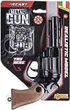 Villa Jouets 61510–Pistolet Metal Gun Triton Try Me, Noir