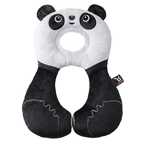 Ben-Bat Panda se ami Voyage Appuie-tête (1 à 4 mois, blanc)