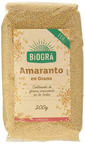 Biográ Amaranto En Grano 500G Biogra Bio Biográ 500 g