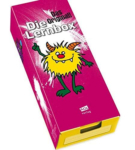 Die Lernbox (DIN A8) - Design: Monster: Lernbox zum Selbstbefüllen, fertig montiert