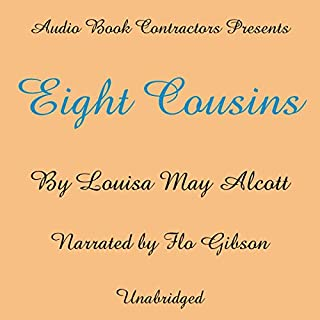 Eight Cousins audiobook cover art