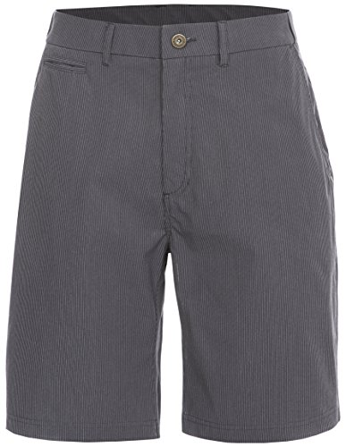 Trespass Atom Shorts de Sport Homme Gris rayé FR : XL (Taille Fabricant : XL)