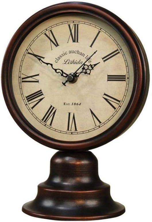 DIAOD Metal Retro Vintage Table Livi Clock Home Alarm Genuine Decoration Spring new work