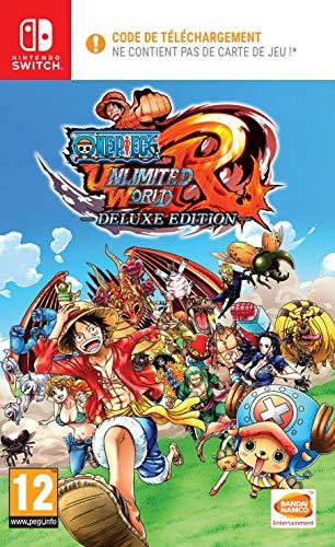 One Piece Unlimited World Red (Code de téléchargement pour Switch dans la boîte - pas de disque)