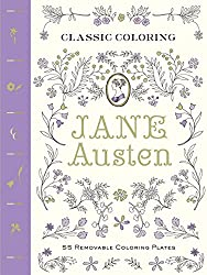 Coloring books for literature lovers the architect and for Jane austen coloring pages