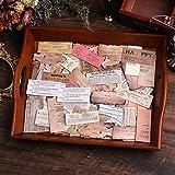 Lychii Scrapbooking Adesivi, 320 Pezzi Adesivi di Carta Decorativa, Adesivi Adesivi di Design Vintage per Album Scrapbook mestiere, Agenda Calendario, Fai da Te, Bullet Journal