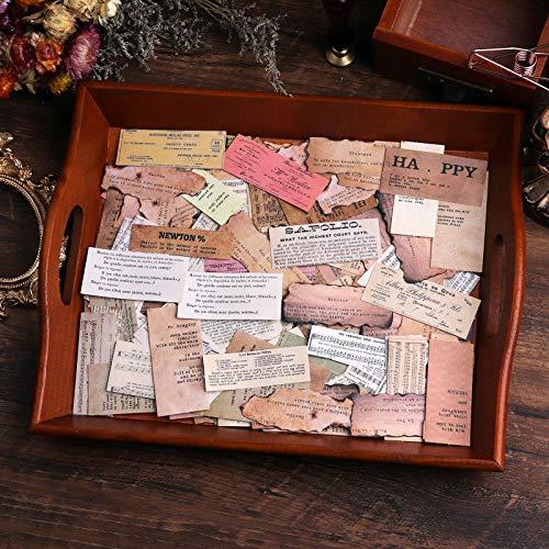 Lychii pegatinas para álbumes de recortes, 320 pegatinas de papel para decoración, pegatinas adhesivas de diseño vintage para álbumes de recortes, planificador de calendario, bricolaje