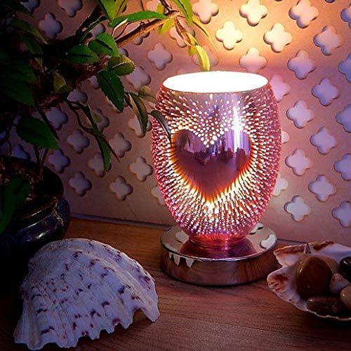 Heart 3D Electric Wax Melt or Oil Burner - Electric Touch-Sensitive Burner