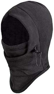 Headgear Hat Outdoor Wind Mask - Black