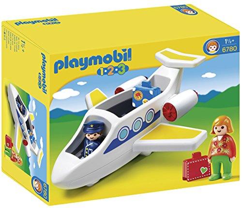 PLAYMOBIL: 1.2.3 Avión  6780