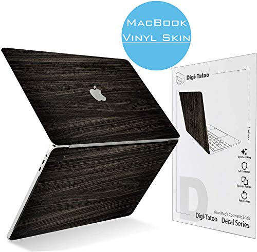Digi-Tatoo MacBook Skin Decal Sticker Compatible with MacBook Pro 16 inch w/Touch Bar 2019 (Model A2141), Easy Apply, Full Body Protective and Anti-Scratch Vinyl Skin [Wood Texture]