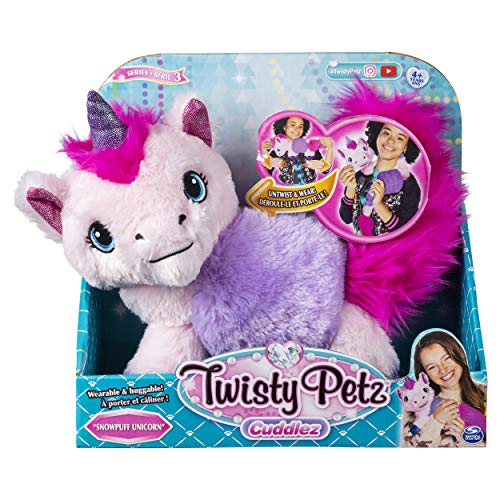 Twisty Petz 6053748 - Cuddlez 2 - in - 1 Plüschtier, sortiert