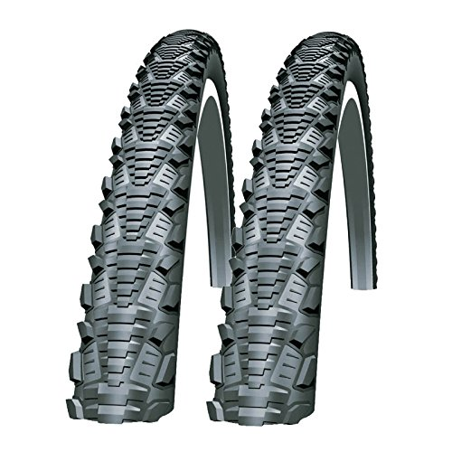 SCHWALBE CX Comp 700 x 35c Bike Tyres (Pair)