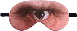 Missliht 3D Animal Eyes Sleep Eye Mask Novelty Printing Relaxing Travel Sleeping Eyeshade Sleep Aid for Kids and Adults (Cyclops)