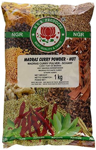 Ngr Currypulver, scharf, 1er Pack (1 x 1 kg Packung)