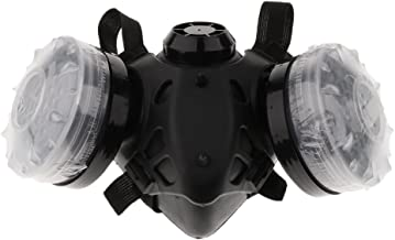 MagiDeal Anti-Dust Respirator Mask for Welder Welding Paint Activated Carbon Gas Mask