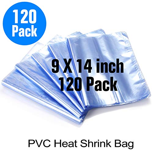 Heatoe 200 Pcs Eco-Friendly Odorless Transparent Heat Shrink Wrap Bags for Bath Soaps Bottles Cookies Crafts DIY Homemade Products
