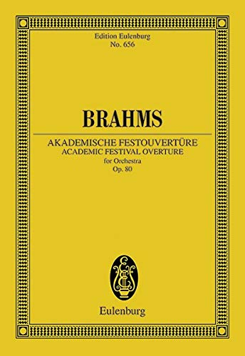 Akademische Fest-Ouvertüre op. 80 Orchester