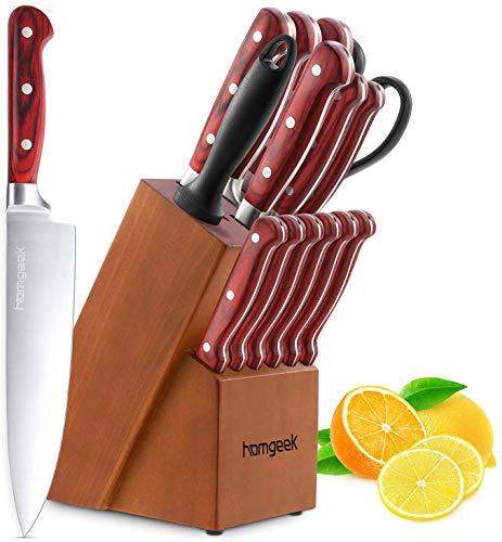 homgeek Couteaux de Cuisine,...