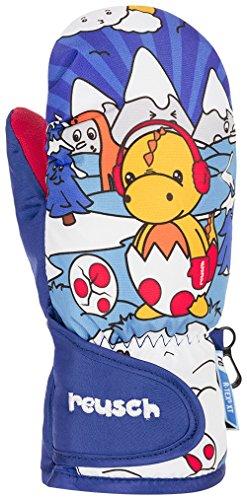 Reusch Kinder Snowy R-Tex Xt Fäustling Handschuhe, Dazzling Blue, 2