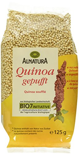 Alnatura Bio Quinoa, gepufft, 125g (Lebensmittel & Getränke)