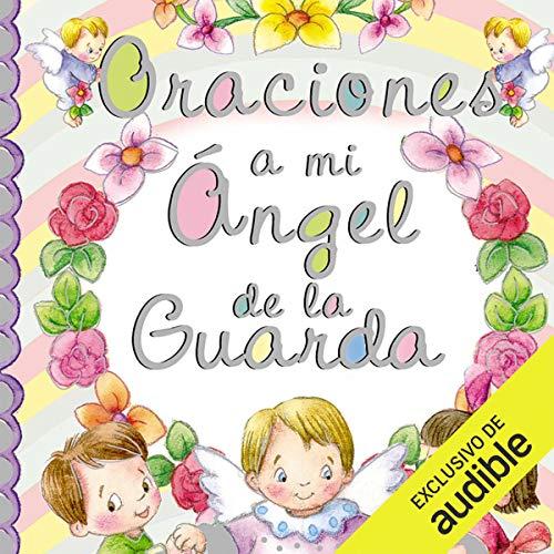 Diseño de la portada del título Oraciones a mi ángel de la guarda