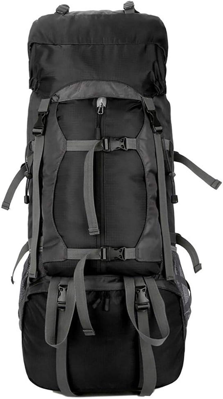 MOREJUN Wanderrucksack, 60L 60L 60L Outdoor Rucksack wasserdichtes Klettern Wanderrucksack Packs Trekking Reisen Camping Bergsteigen Rucksack Sporttasche,schwarz B07KR8QSFK  Bestätigungsfeedback 00eabb