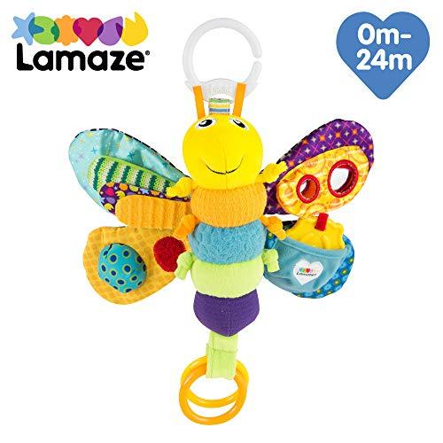 Lamaze TOMY Clip /& Go Ella das Einhorn Baby Kinder Spielzeug Greifling Rassel