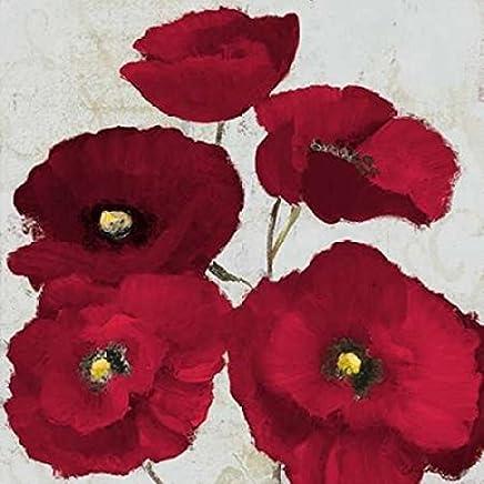 Kindle Poppies II Poster Print by Lanie Loreth (24 x 24)