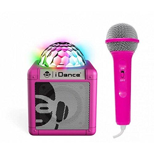iDance Sing Cube 100 5W Pink - Tragbare Lautsprecher (5 W, Verkabelt & Kabellos, Micro-USB, Pink, Digital, Tablet/Smartphone)