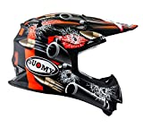 Suomy Casco Motocross MR Jump Bullet, Multicolor (Bullet Matt Black), M