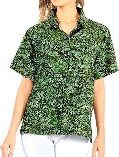 Happy BAY dames Hawaii-party blouse badmode shirt strand